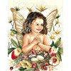 Вышивание Радость (лен),артикул:PN-0008176 (35123)