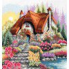 Вышивание Домик у озера (Lakeside Cottage),артикул:PCE-922