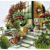 Вышивание Осеннее цветение (лен),артикул:PN-0008016 (34790)
