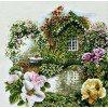 Вышивание Цветочный сад (лен),артикул:PN-0008019 (34807)