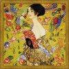 Вышивание Дама с веером, по мотивам картины Г.Климта,артикул:1226