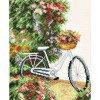 Вышивание Мой велосипед (My Bicycle) лен,артикул:PN-0147006