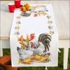 Вышивание Дорожка на стол Куриное семейство,артикул:PN-0145793