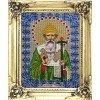 Вышивание Икона Святитель Спиридон Тримифутский,артикул:L-112
