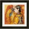 Вышивание Восточная пара (Asian couple) лен,артикул:PN-0147587