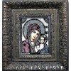 Вышивание Набор для вышивания хрустальными бусинами и настоящими камнями икона Казанская Божия Матерь,артикул:7701