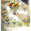 Вышивание Летние цветы, скатерть,артикул:12-4584