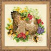 Вышивание Курица,артикул:1480