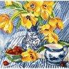 Вышивание Натюрморт с тюльпанами,артикул:M504