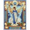 Вышивание Набор для вышивания хрустальными бусинами и настоящими камнями Ангел Хранитель домашнего очага,артикул:7730
