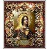 Вышивание Набор для вышивания хрустальными бусинами и настоящими камнями икона Святая Мария Магдалина,артикул:77-и-09