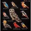 Вышивание Птицы (Birds),артикул:14-001-10
