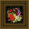 Вышивание Панно или подушка Жостовская роспись,артикул:1642