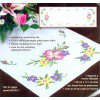 Вышивание Салфетка Дикие розы,артикул:73215