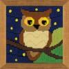 Вышивание Сова среди звезд,артикул:1715