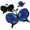 Вышивание Магнит-игольница Бабочка,артикул:1721АС
