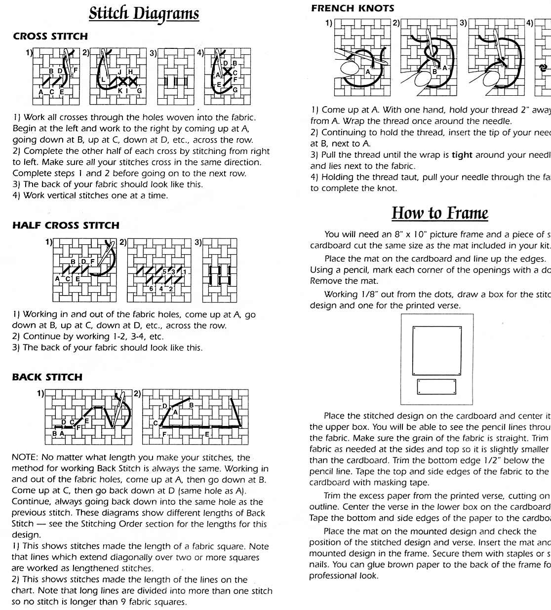 Схемы вышивок на магниты
